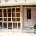 広尾の床屋さんの工事